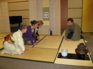Japońska ceremonia parzenia herbaty