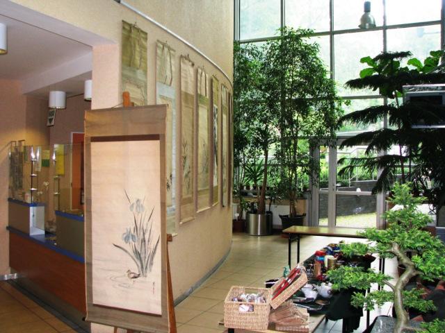 Wystawa obrazów kakemono