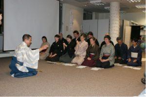 Mini-warsztaty zMistrzem Teatru Nō Akirą Matsui