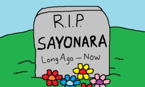 sayonara-dead